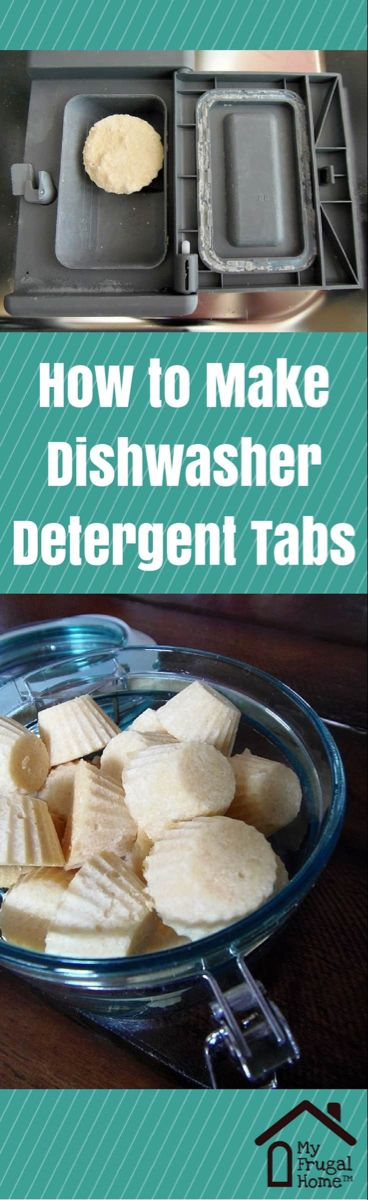 How To Make Dishwasher Detergent Tabs Homemade Dishwasher Detergent Dishwasher Detergent Cleaning Recipes