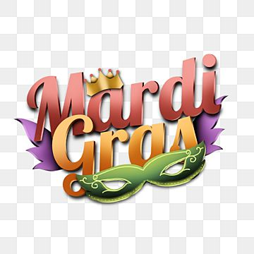 Premium Multicolor Mardi Gras Text And Illustration Asset Style Mask Mardi Gras Png Transparent Clipart Image And Psd File For Free Download Celebration Background Clip Art Mardi Gras