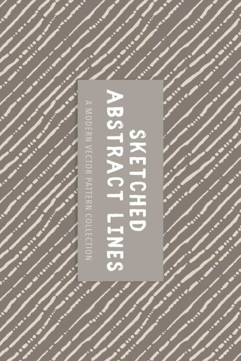 64 Sketched Abstract Lines Patterns