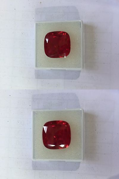 Loose Diamonds and Gemstones 491: Lab Created Synthetic Ruby