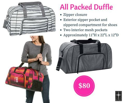 4066b1a00a All Packed Duffle - Ombre Stripe