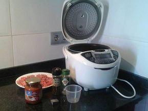 Pasta Con Carne Picada O Chorizo En La Multicooker 12 En 1