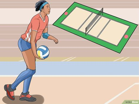 essay about how to play volleyball