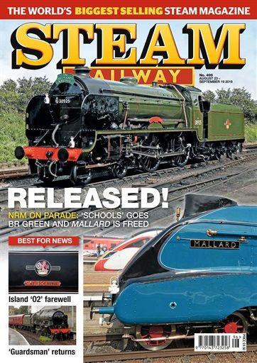 Steam Railway Issue 496 Buy Back Issues Single Copies Steam Railway Steam Railway