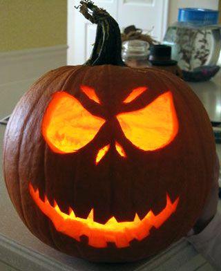 really scary pumpkin carving ideas | Pumpkin Design by Rippah2 ...