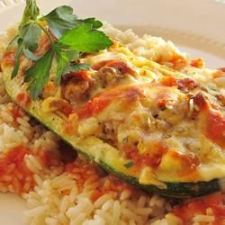 Stuffed Zucchini Allrecipes.com