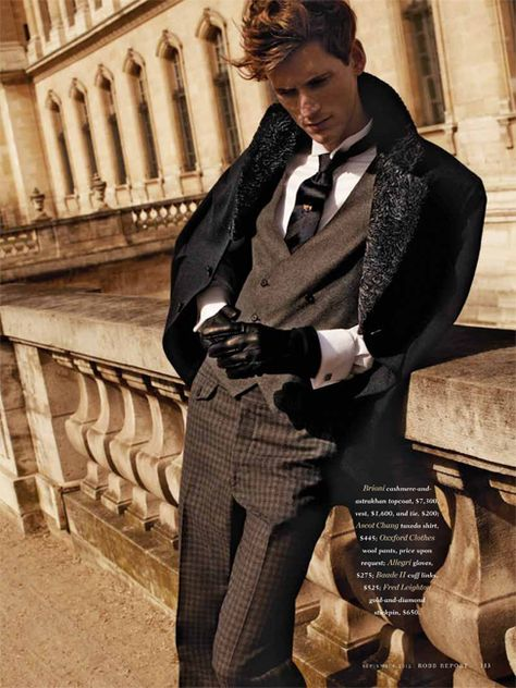 The Parisian Eye–Captured against the beautiful urban backdrop of Paris, Bananas stunner Bastiaan Ninaber is the epitome of timeless chic in the September issue of Robb Report. David Roemer photographs the impeccably polished Bastiaan in a luxurious editorial that exudes a Parisian finesse within the scope of contemporary fashion and culture. Stylist Christopher Campbell works...[Read More]