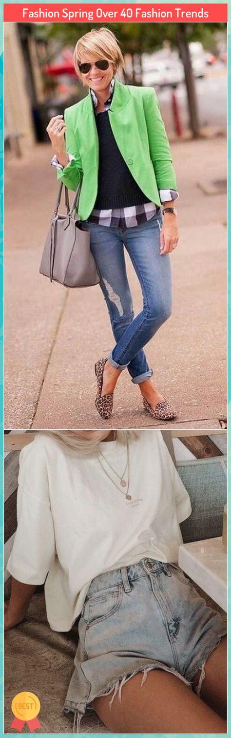 Fashion Spring Over 40 Fashion Trends #Fashion #Spring #Over #Fashion #Trends