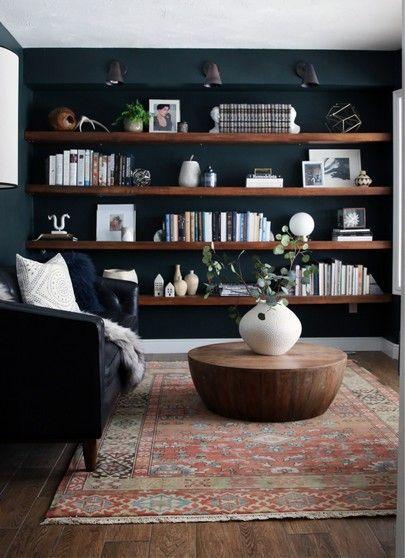 Moody shelves