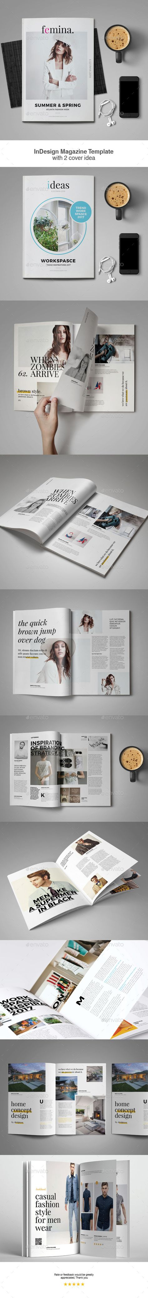 30 best Indesign Magazine Template images on Pinterest | Indesign ...