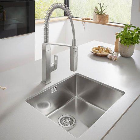 Grohe K700 1 0 Bowl Undermount Stainless Steel Kitchen Sink