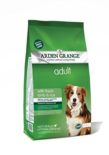 Arden Grange Dog Food Adult Lamb Rice 12kg Dogfood Pets