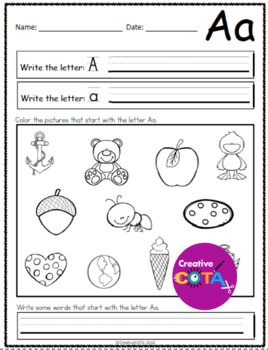Free Sample of No Prep ABC Worksheets Letter Sound | Abc ...