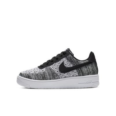 air force 1 bambino bianche e nere