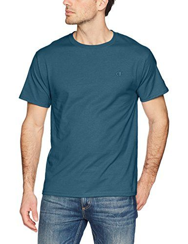 a75832d3dada Champion Men's Classic Jersey T-Shirt, Juniper Blue, M List Price: $17.00  Your Price: $7.49 You Save: $8.22