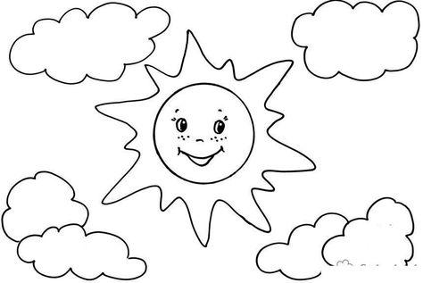 Ausmalbilder Sonne Sonne Ausmalbilder Ausmalen Und Sonne