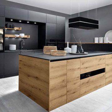 Cuisine Design Cuisiniste Specialiste Des Meubles De Cuisine Haut De Gamme Sur Mesure De Qualite Allemande Et F En 2020 Meuble Cuisine Cuisines Design Cuisine Moderne