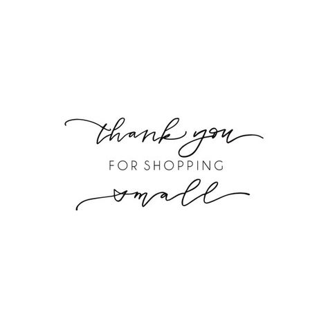 Shop Exclusive rubber stamp Thank you for by kawaiigoodies