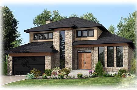 Belle bi-génération (maison intergénérationnelle) de style - plan d une belle maison