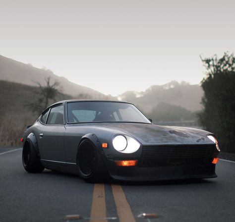 Stanced Cars Datsun 240z One Of The Cleanest. | Cars | Pinterest | Datsun  240z, Cars And Jdm