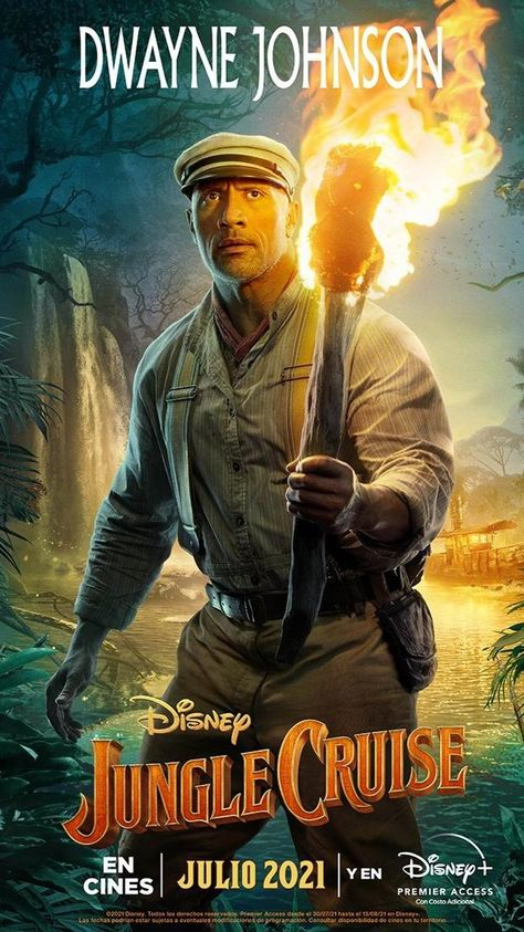 Jungle Cruise posters individuales