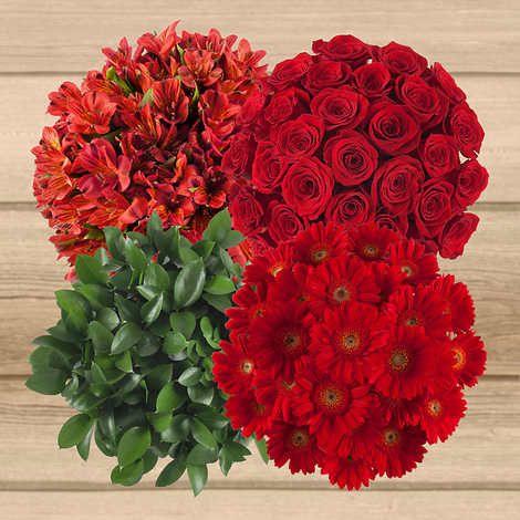 115 Stem Floral Variety Combination Floral Floral Wreath Gerbera