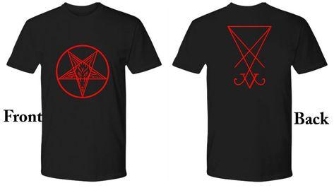 Tarot Sigil of lucifer hommes Tank top Card Devil Satan sceau de Lucifer Carte