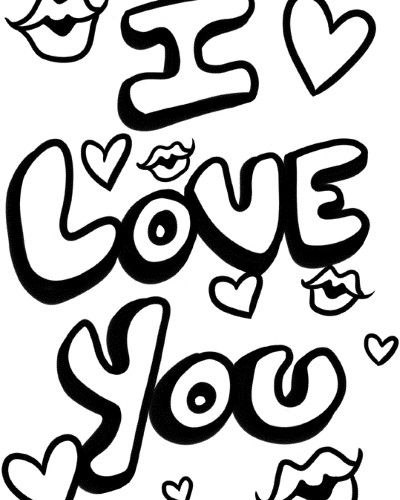 Cute Coloring Pages For Your Boyfriend Love Coloring Pages Coloring Pages To Print Coloring Pages For Teenagers