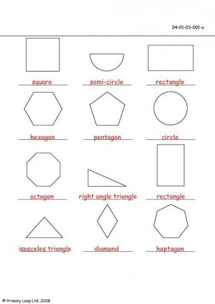 Math First Grade Shapes Worksheet Shapes Worksheets Shape Worksheets For Preschool Kindergarten Worksheets