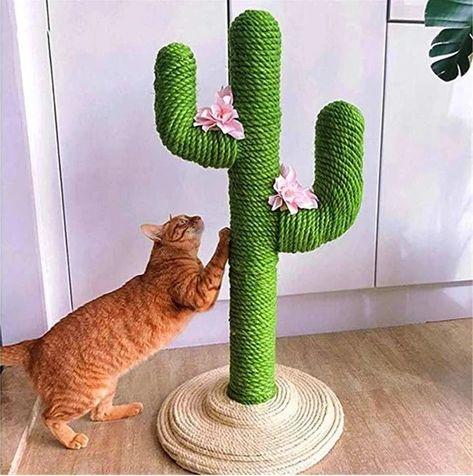 Cute Cactus Cat Climbing Frame Unitedto En 2020 Productos Para