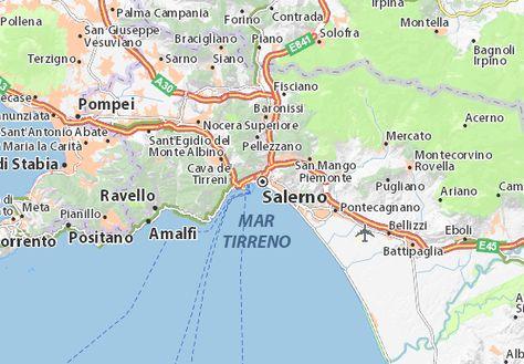 Mapas Planos Salerno Planos Mapas Viajeros