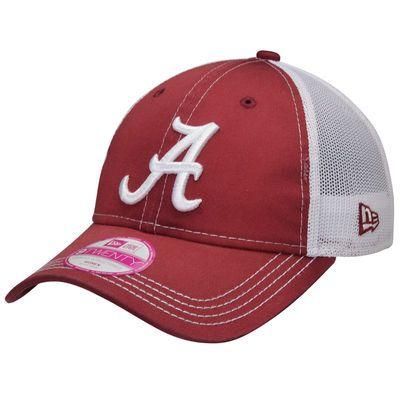 sports shoes 302c3 0db5c Alabama Crimson Tide New Era Women s Spirited Trucker Adjustable Hat -  Crimson
