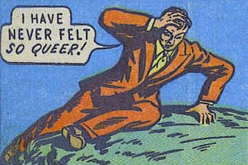 I wanna find some comic books with queer characters ahhhh! Comic Art, Comic Books, Homo, Gay Aesthetic, Moritz, Queer Art, Comic Panels, Vintage Comics, Reaction Pictures
