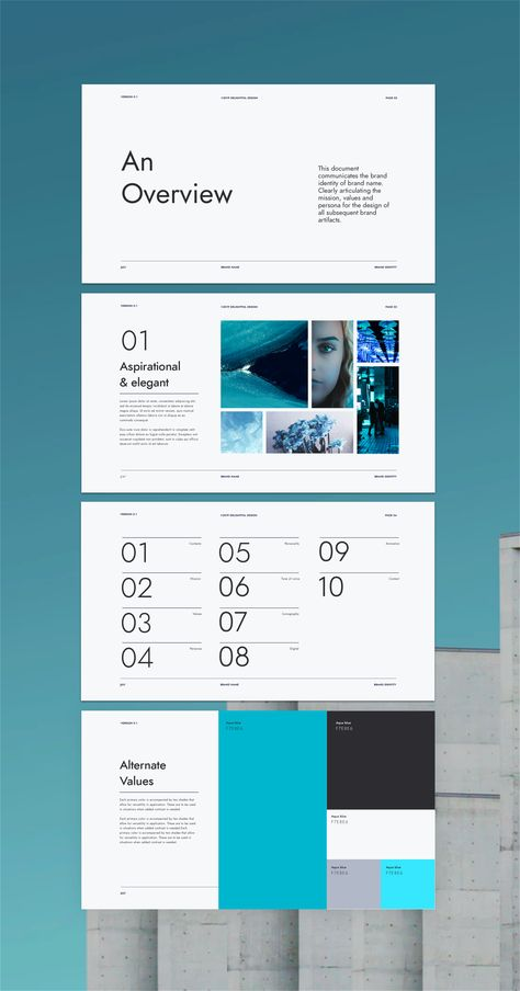 The minimal branding guidelines template. Is a brand manual presentation with ov. - The minimal branding guidelines template. Is a brand manual presentation with over unique, mini - Brand Guidelines Design, Homepage Design, Brand Identity Design, Graphic Design Branding, Logo Guidelines, Brand Guidelines Template, Minimal Graphic Design, Newsletter Design, Minimal Logo