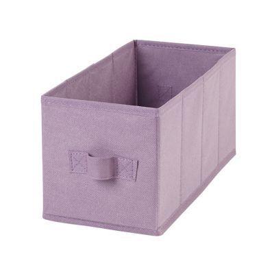 2 Boites De Rangement Rectangulaires En Textile Mixxit Coloris Rose Boite De Rangement Rangement Rangement Tissu