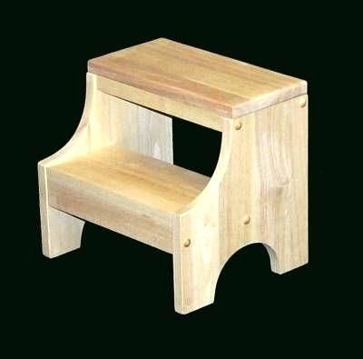 Small Wooden Step Stools Toddler Must Have Simple Woodworking