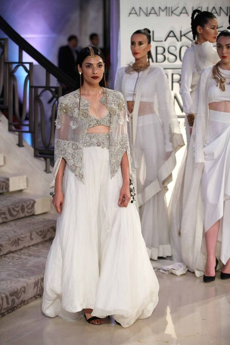 51 Wedding Lengha Styles to Fall in Love With anamika khanna lakme fashion week 2015