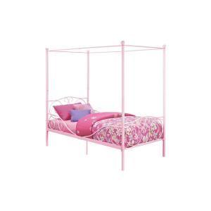 Dhp Capri Pink Twin Size Metal Bed Frame De65171 Decoracao De Casa Decoracao Casas