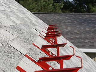 Row Of Roof Jacks Used To Access Roof For Repairs Roof Installation Roof Installation