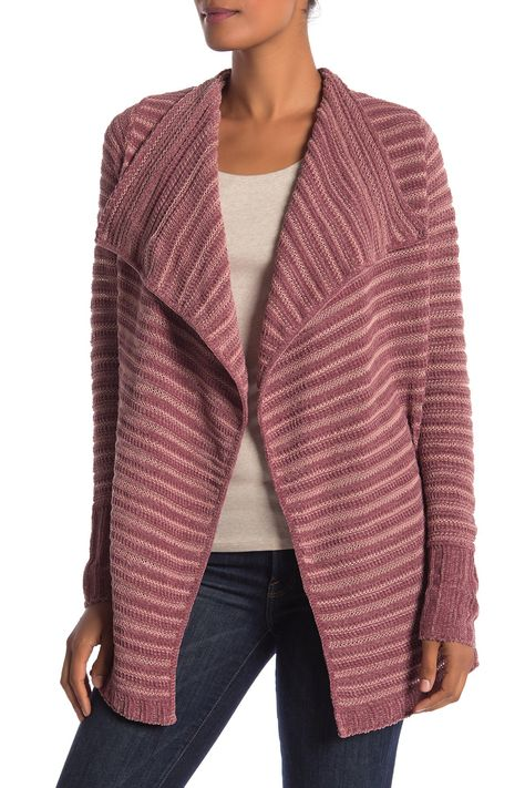 Chenille Soft Knit Cardigan (Regular & Petite) by SUSINA on @nordstrom_rack