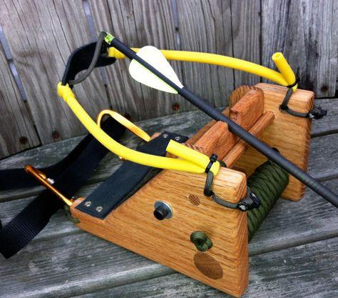 The FOX Slingshot / Slingbow Hunting System Oak by LibertyOST, $51.00