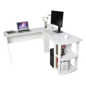 Bureau D Angle Pour Ordinateur Meuble Informatique Table De