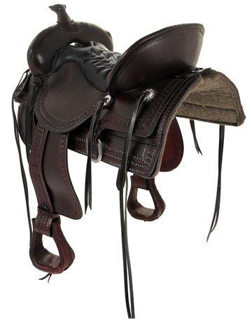 Tucker Saddles Old West Trail Saddle 277 w/Free Pad | Trail saddle
