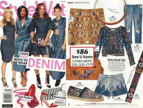Featured in April Issue of People Style Watch Magazine! #SeeUSoonNYC #StyleWatchMag #StyleWatch #Magazine #PeopleMagazine #NYC #springfashion #ReadyToWear #2016 #SpringOutfits #skirt #linen #minimalist  #streetfashion #fashion #vintagefashion #classic #chic #casual #style #vintage #modern #styleinspiration #lookbook #trendy #outfitinspiration #womenfashion #chic #feminine #bloggerstyle #weekendstyle #streetstyle #shopping #fashionbuyer #pintereststyle #fashioninspo #stylegram #pintereststyle Fea