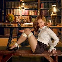 Emma Watson Tied Up
