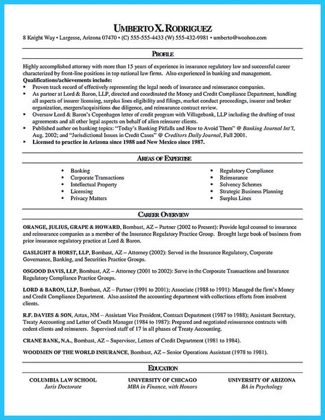 As you are confused on how to arrange an attorney resume sample - corporate attorney resume