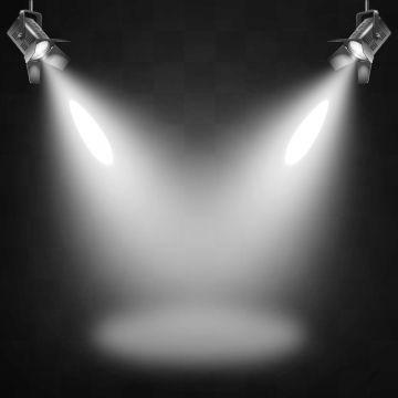 White Beam Lights Spotlights Vector Transparent Effect Bright Lighting With Spotlights Spotlight Light Beam Png And Vector With Transparent Background For Fr Light Beam White Beams Light Bulb Vector