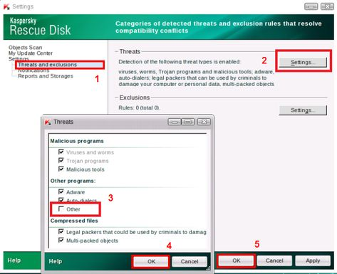Kaspersky Exclusion Rules Trusted Applications
