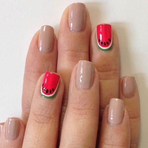 21 Cute Watermelon Nail Concepts-  #Concepts #CUTE #Nail #Watermelon-    21 Cute Watermelon Nail Concepts #ideas #watermelon