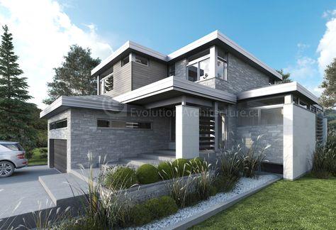 13 best maisons renovées toit pentes images on Pinterest